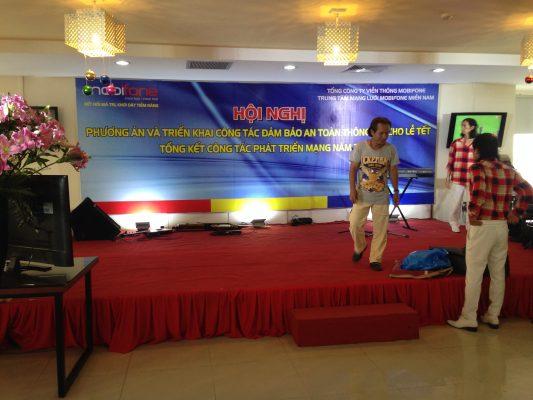 Cho thuê âm thanh hội nghị hội thảo giá rẻ tại Hà Nội
